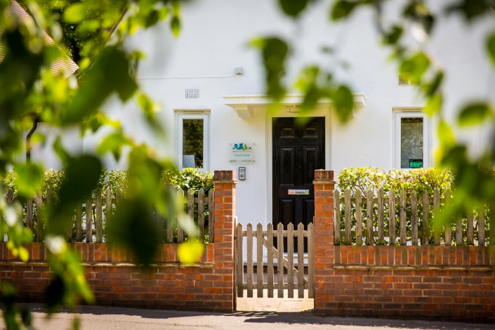 Front door of nursery