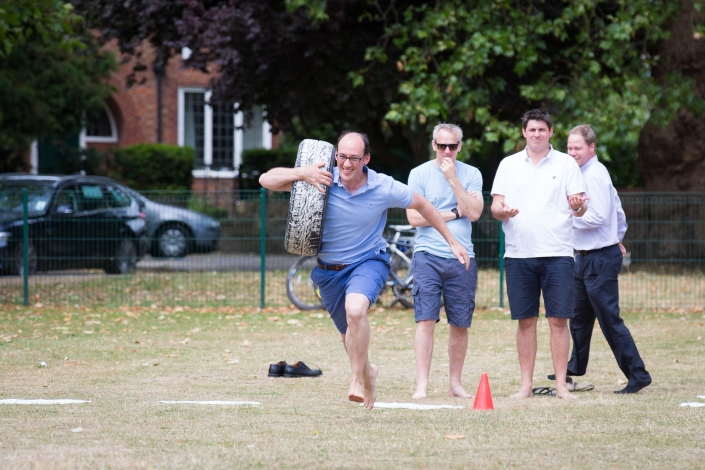 Sports day Dad race