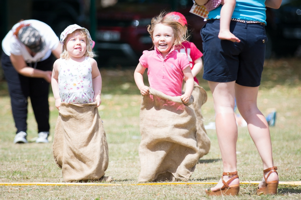 sports day sack race