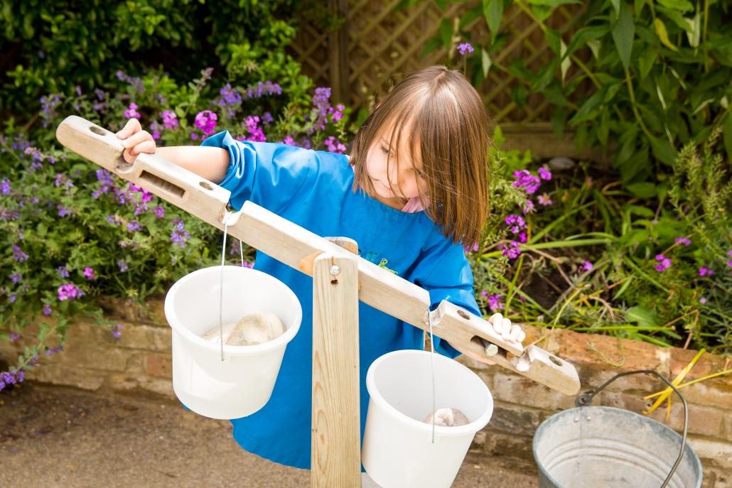 Balancing buckets